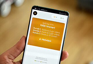 Norsk quiz-app lokker med 1.000 kroner til vinneren