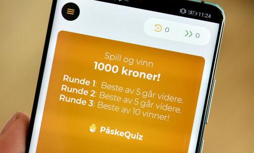 image: Norsk quiz-app lokker med 1.000 kroner til vinneren