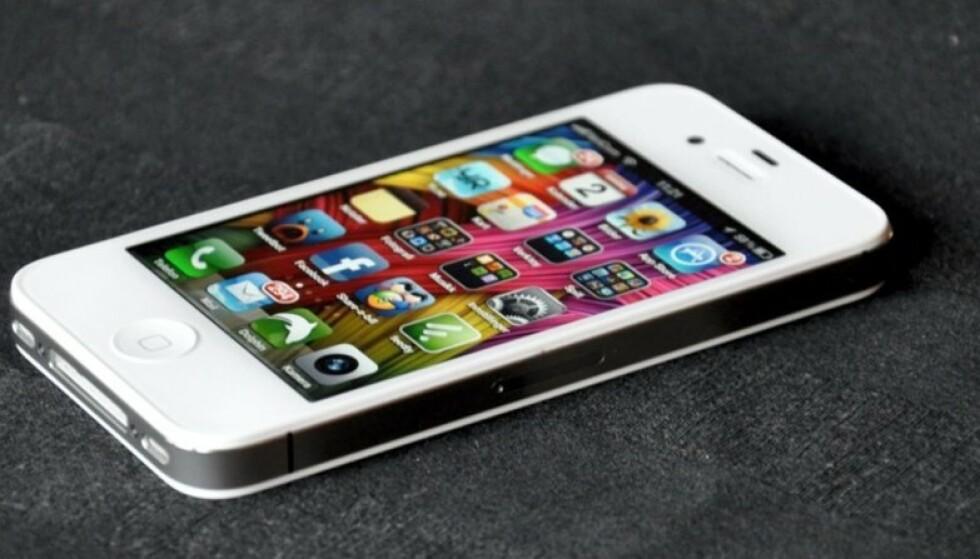 STENGER 3G-NETTET: Apple iPhone 4S er en av smarttelefonene som kun støtter 3G-nettet. Foto: Pål Joakim Pollen.