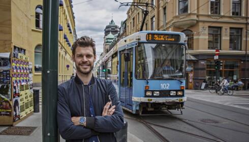 PÅ FEIL SPOR? Moxnes mener rikingene må betale mer for el-doningene sine. Foto: Bjørn H. Moen