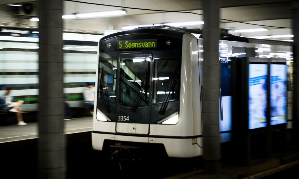 STENGES: Ruter oppfordrer de reisende til å bruke alternative reisemåter. Foto: Jon Olav Nesvold/NTB scanpix