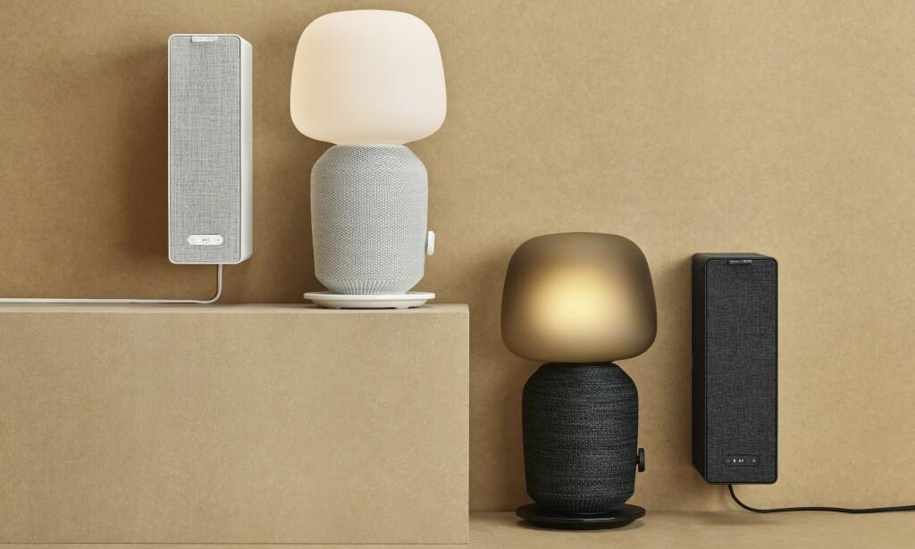 SYMFONISK: Ikea og Sonos avduker de to første høyttaler i sitt samarbeid. Foto: Ikea