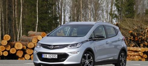 Opel Ampera-e blir mye billigere