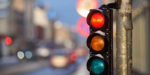 image: Så mye koster det å kjøre på rødt lys