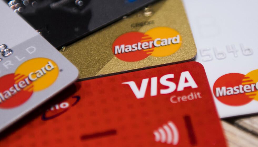BRYTER LOVEN: 36 av de 48 aktørene som ble sjekket, brøt reglene om markedsføring av kredittkort og forbrukslån. Foto: Jon Olav Nesvold/NTB scanpix