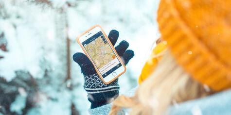 image: Ny app for skred- og flomvarsel