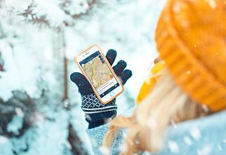 Sjekk om du er i et snøskredfare-område