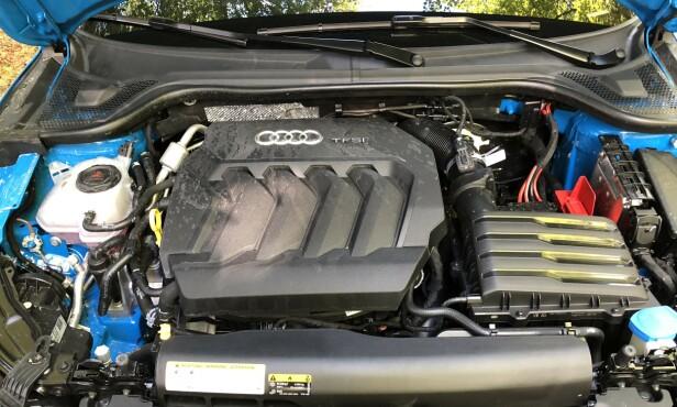 NENSTEN SOM S1: Forrige generasjon fikk en 2 liter i S1 Quattro, på 235 hester og råskinnet A1 Quattro på hele 265 hk. Denne har 200 hk og er morsom den også. Foto: Rune M. Nesheim: