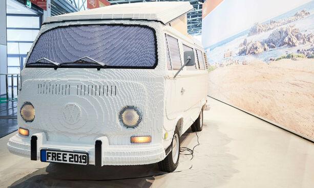 image: Bygde VW-buss ... i Lego!