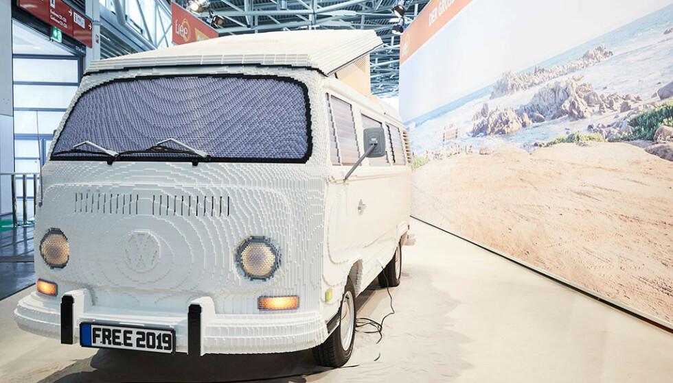 <strong>FOLKEVOGNBUSS:</strong> Legoversjonen VW T2 tar seg bra ut. Foto: f.re.e