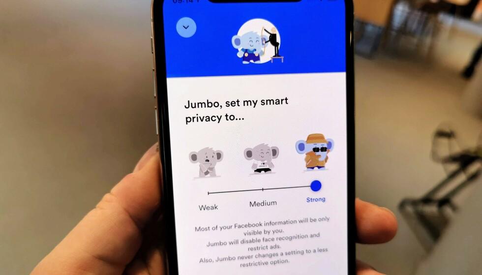 RYDDER OPP: Personvernsinnstillingene på Facebook er det mange av – appen Jumbo skrur på dem for deg hvis du gir den tillatelse. Foto: Pål Joakim Pollen