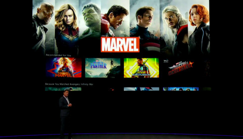 Disney+ vil ha et rikt bibliotek med filmer og TV-serier. Foto: Disney