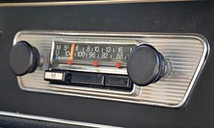 TIDLIG UTE: Mens andre produsenter knapt vurderte å sette inn sikkerhetsbelter i modellene sine, feiret Volvo ti års jubileum for sitt beltepatent i 1969. Nakkestøtter ble først standard etter 1970. Foto: Stein Inge Stølen