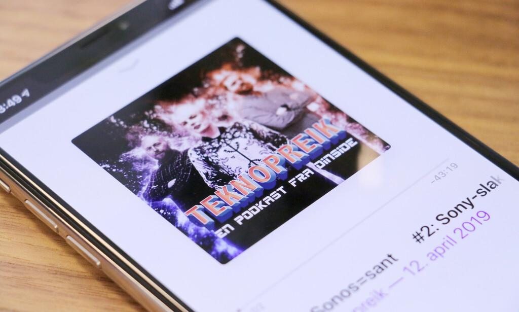 SØK OSS OPP: Vår nye podkast Teknopreik er nå tilgjengelig på iTunes og Spotify. Foto: Kirsti Østvang