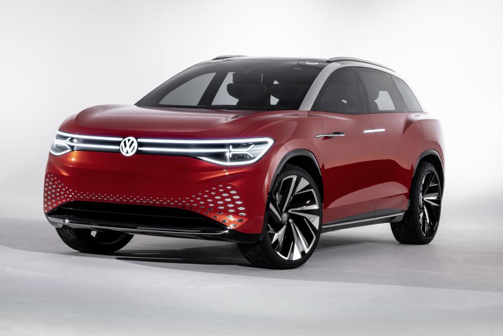 KONSEPT: Slik ser konseptversjonen VW ID. Roomzz ut, vist på motormessa i Shanghai 2019. Foto: VW