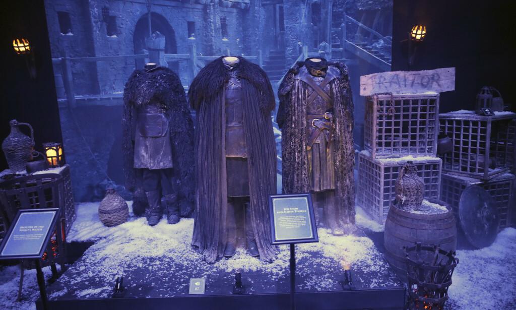 DETTE KAN DU SE NÅ: Fra den omreisende Game of Thrones Touring Exhibition, som nå er i Belfast. Foto: NTB scanpix