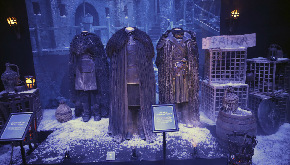 <strong>DETTE KAN DU SE NÅ:</strong> Fra den omreisende Game of Thrones Touring Exhibition, som nå er i Belfast. Foto: NTB scanpix
