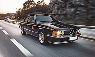 LINJELEKKERT: Designen er av det vakreste BMW har laget. Foto: Alexander Wallem