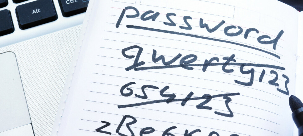 Slik lager du gode og unike passord