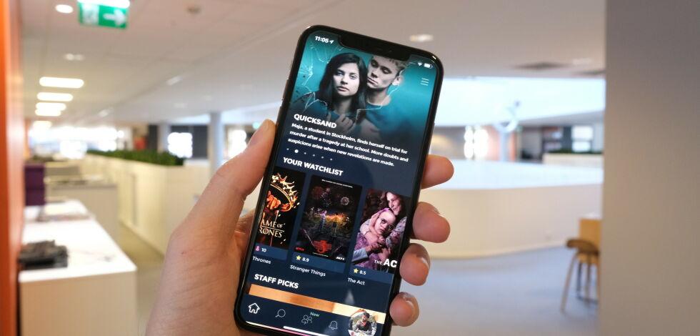 image: Den nye appen for deg som elsker film ... og TV-serier