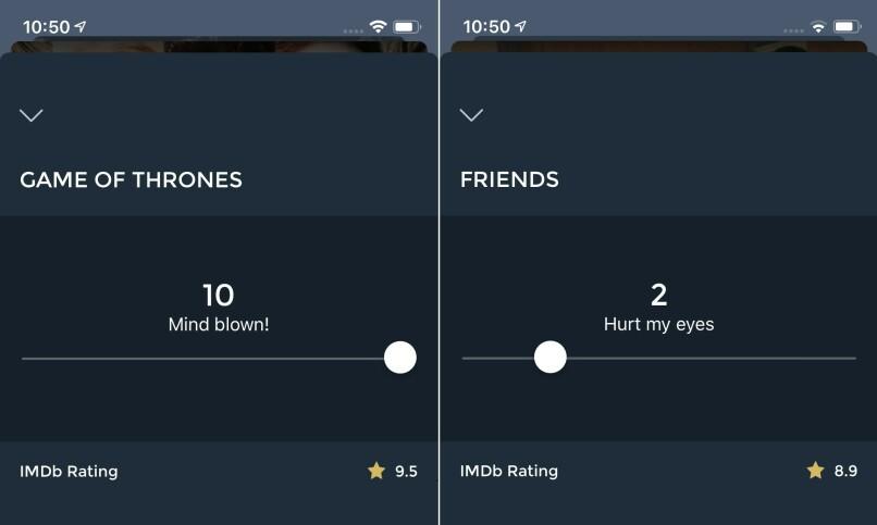 I Playpilot kan du enkelt sette karakter på TV-serier.