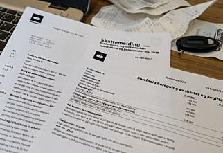 Hva betyr postene i skattemeldingen?