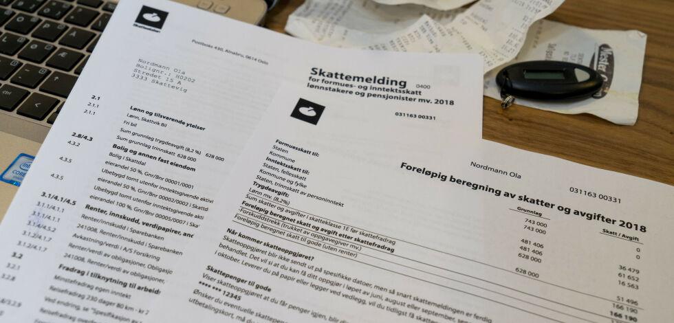 image: Hva betyr postene i skattemeldingen?