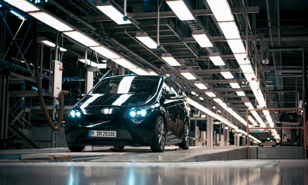 NY AKTØR: Siden Saab gikk konkurs har fabrikken i Trollhättan stått stille. Nå blir det liv igjen. Foto: Sono Motors.