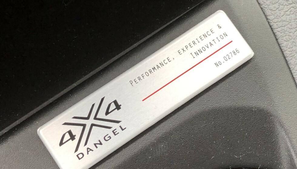 4X4: Det er den franske spesialfabrikken Dangel som monterer fIrehjulstrekk på Toyota Proace. Foto: Rune M. Nesheim