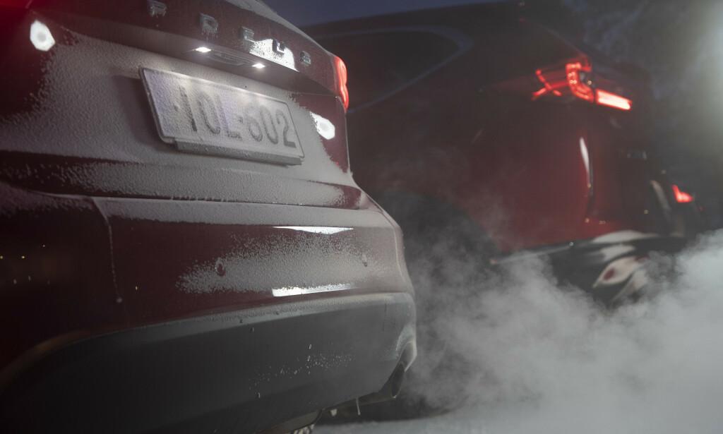 NYE KRAV: Fra 2020 krever EU et CO2-utslipp på maksimalt 95 gram i gjennomsnittet fra flåten av nye biler som produsentene selger. I 2018 lå det på 120,5 gram. Det betyr store bøter. Foto: Markus Pentikainen.