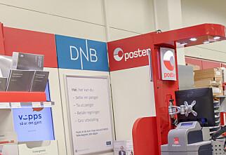 DNB slutter med banktjenester via Posten