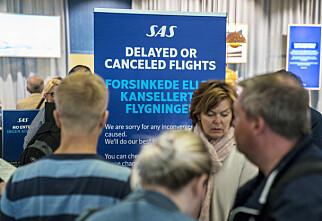 Disse avgangene rammes av pilotstreiken