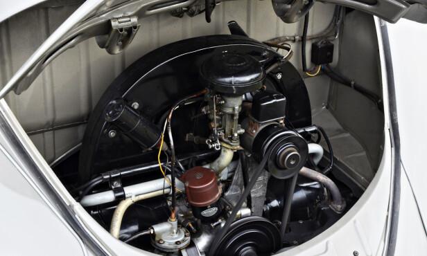 Fra 1100 til 1200: Fra slutten av 40-tallet til begynnelsen av 60-tallet fikk Bobla større motorvolum, høyere effekt, helsynkronisert girkasse og mer påkostet interiør. Foto: Stein Inge Stølen