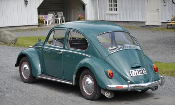 FOKKEVOGNA: I Norge fra 1958 til 1969. Foto: Stein Inge Stølen