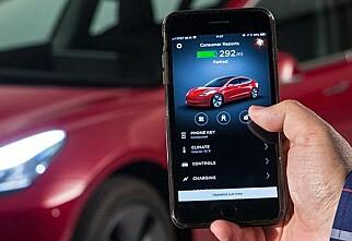 Denne appen åpner og starter bilen