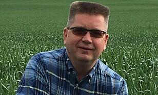 JON ATLE REPSTAD: Spesialist på plen og planter hos Felleskjøpet. Foto: Felleskjøpet.
