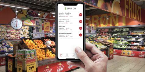 image: Handle-appen som viser deg matvarene som straks går ut på dato