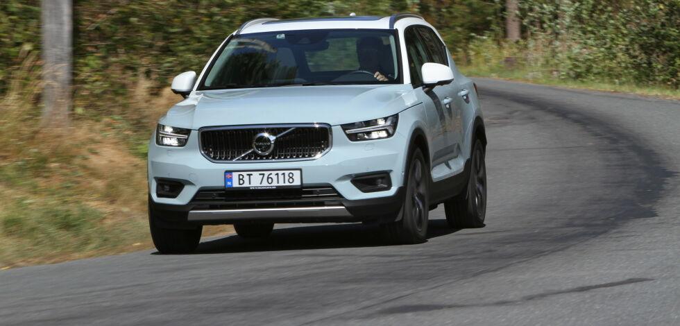image: Baner vei for ny Volvo