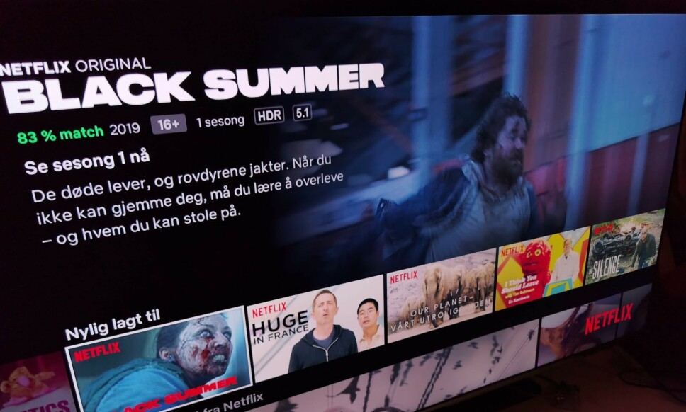 BEDRE LYD: Nå skrur Netflix opp bitraten på lyden for å servere deg lyd de selv mener er praktisk talt umulig å skille fra original-masteren. Foto: Pål Joakim Pollen