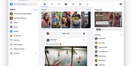 Nytt design, Messenger på skrivebordet - og kanskje kommer Portal til Norge