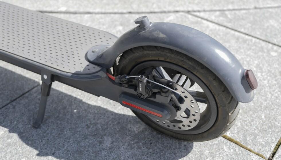 E-wheels E2S kan skilte med skivebrems – det liker vi. Foto: Martin Kynningsrud Størbu
