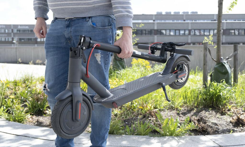 E-wheels E2S bærer du i rammen. Foto: Martin Kynningsrud Størbu