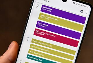 Slik får du mer nyttig i kalenderappen