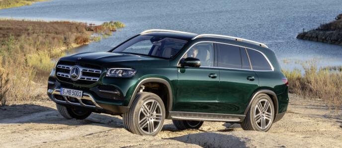 SVÆRING: Merceses sin største SUV er blitt større og mer luksuriøs. Foto: Mercedes Benz.