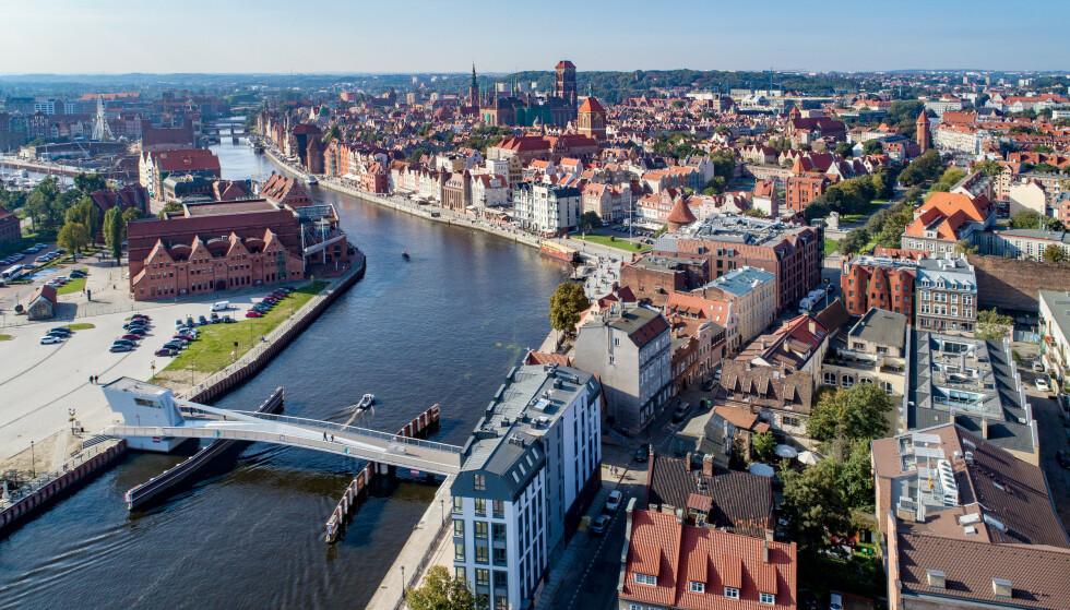 KINDEREGG: Gdansk kan by på billig fly, overnatting og mat, altså tre ting på én gang, og mye mer. Foto: Shutterstock/NTB Scanpix.