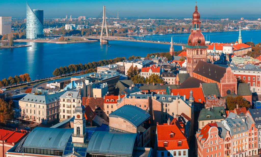 BILLIGE BALTIKUM: Riga er en annen billig by blant de tre baltiske landene. Foto: Shutterstock/NTB Scanpix.