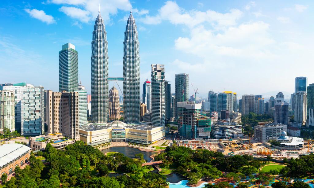 EKSKLUSIV, MEN RIMELIG OVERNATTING: Kuala Lumpur kan by på noen av verdens billigste femstjerners hotell. Foto: Shutterstock/NTB Scanpix.