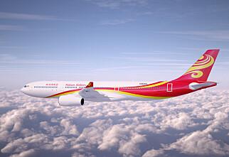 Nå kan du fly direkte til Beijing