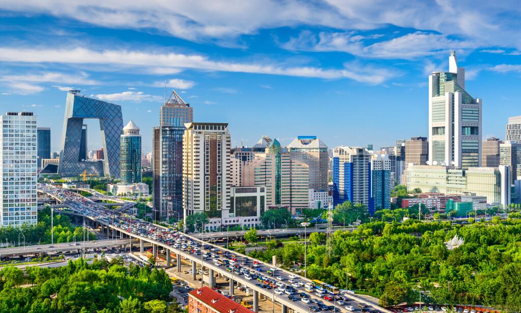 DIREKTE TIL BEIJING: 15. mai starter Hainan Airlines direkteflyvninger mellom Oslo og Beijing. Turen far 9 timer og 35 minutter på utreise, og tur-retur koster det fra 4.100 kroner. Foto: Shutterstock/NTB scanpix
