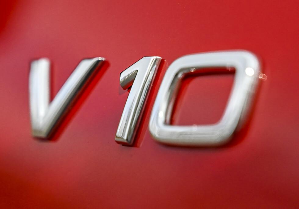 LEGENDARISK: V10-motoren fra Audi er helt magisk. Foto: Jamieson Pothecary